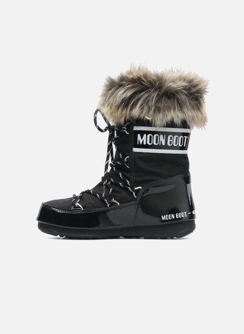 Boots en enkellaarsjes Moon Boot Monaco Low Zwart voorkant