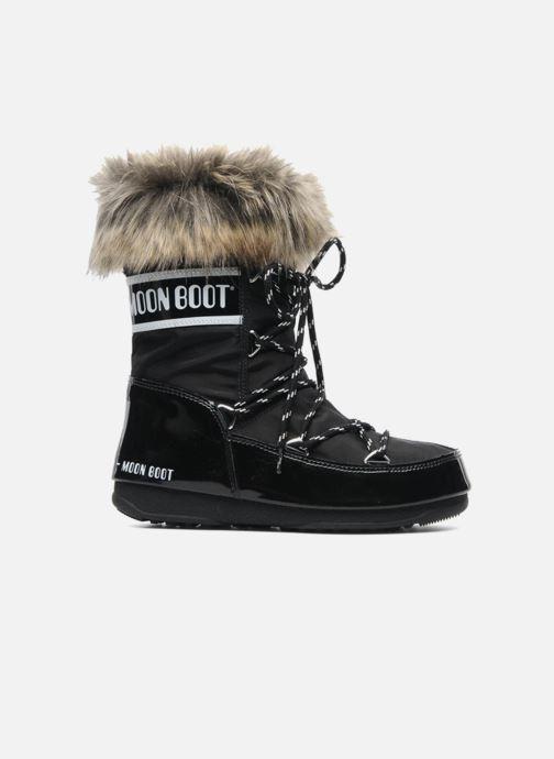 Bottines et boots Moon Boot Monaco Low Noir vue derrière