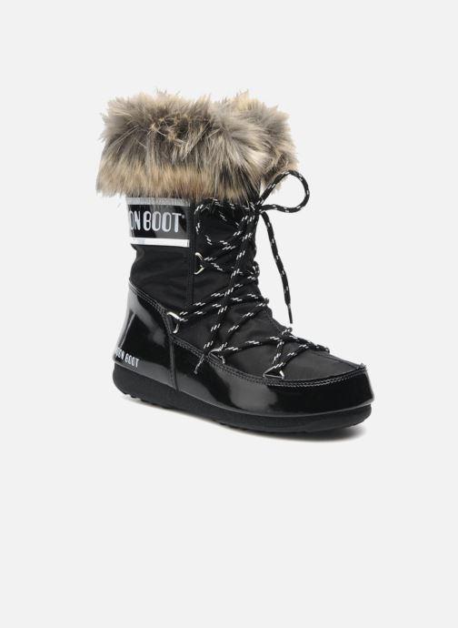 Bottines et boots Moon Boot Monaco Low Noir vue détail/paire
