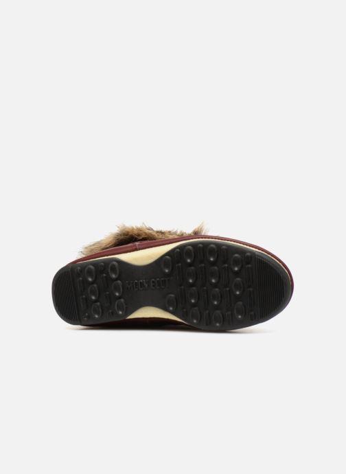 Moon Boot Monaco Low (weinrot) - Stiefeletten & Boots