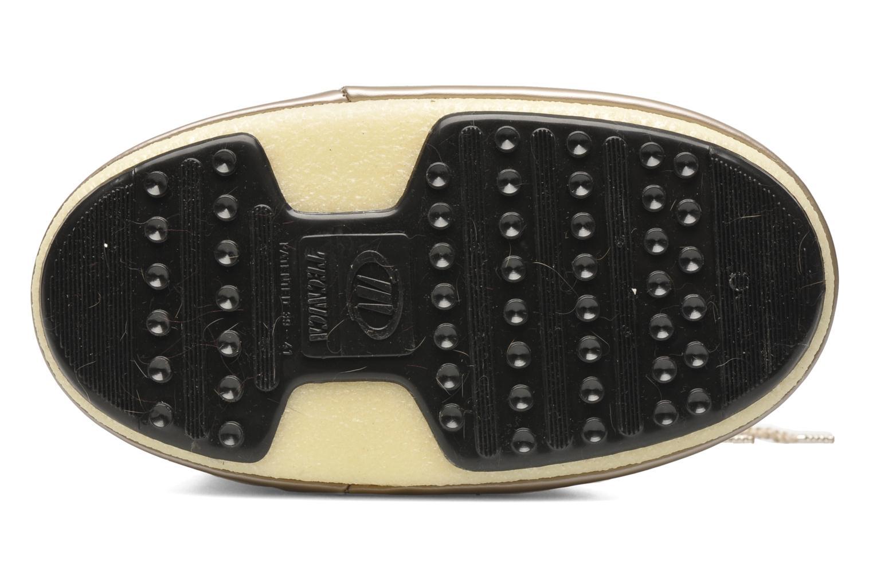 Bottes Moon Boot Logos Or et bronze vue haut