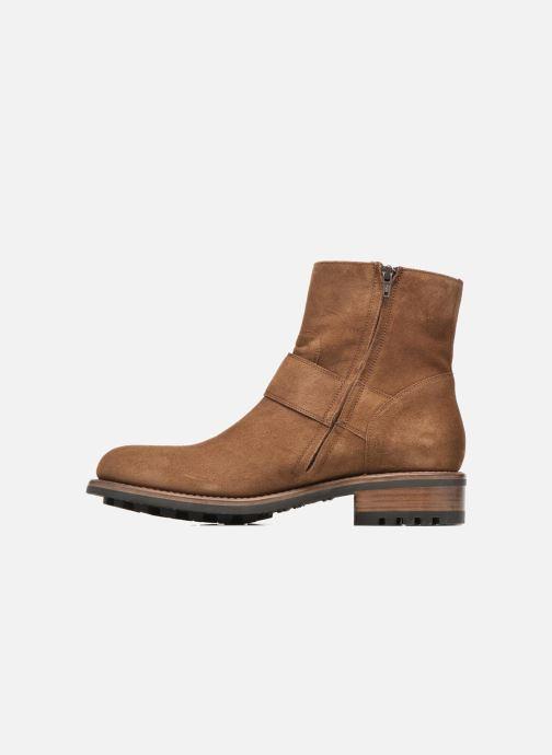 Bottines et boots Jean-Baptiste Rautureau Hyrod Strap Boot Marron vue face