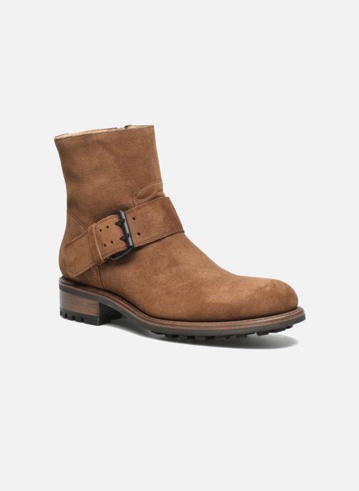 Bottines et boots Jean-Baptiste Rautureau Hyrod Strap Boot Marron vue détail/paire