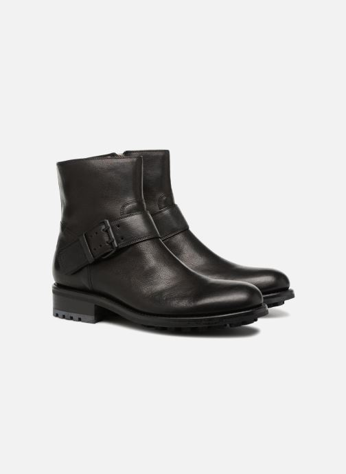 Jean-baptiste Rautureau Hyrod Strap Boot (noir) - Bottines Et Boots Chez