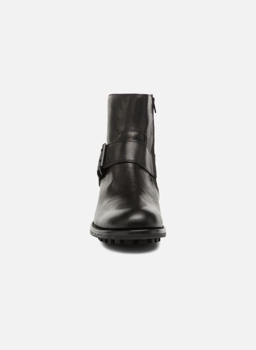 Bottines et boots Jean-Baptiste Rautureau Hyrod Strap Boot Noir vue portées chaussures