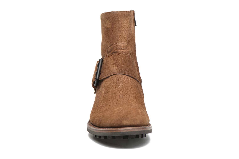 Bottines et boots Jean-Baptiste Rautureau Hyrod Strap Boot Marron vue portées chaussures