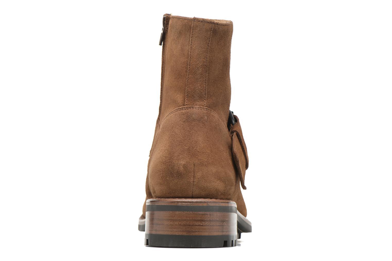 Bottines et boots Jean-Baptiste Rautureau Hyrod Strap Boot Marron vue droite