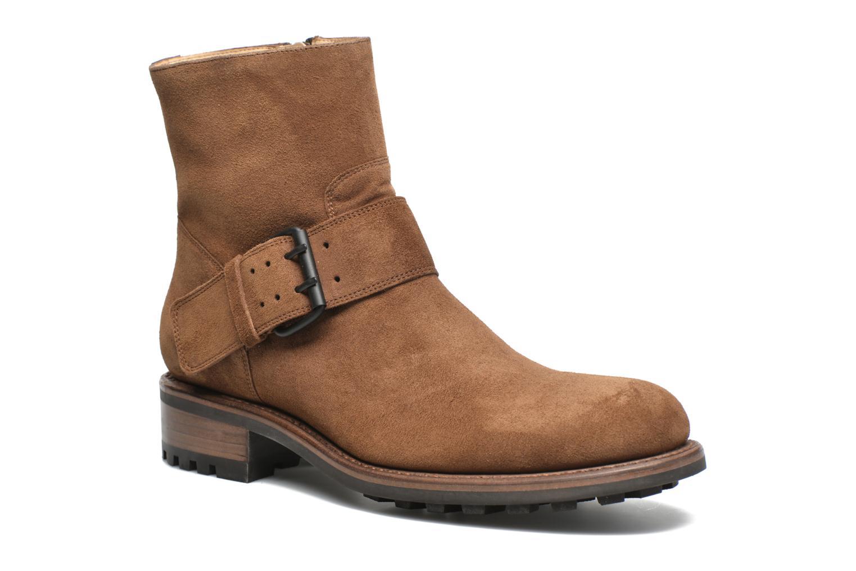 Jean-Baptiste Rautureau Hyrod Strap Boot (Marron) - Bottines et boots en Más cómodo Dernières chaussures discount pour hommes et femmes