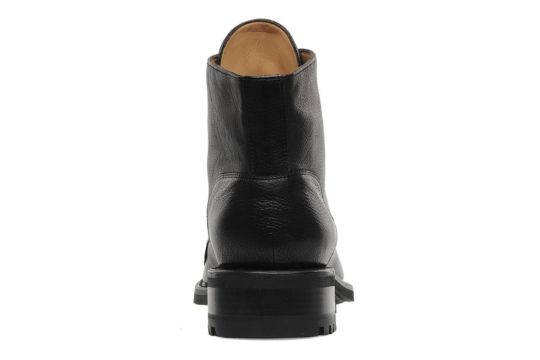 Bottines et boots Jean-Baptiste Rautureau Hyrod Lace Up Noir vue droite