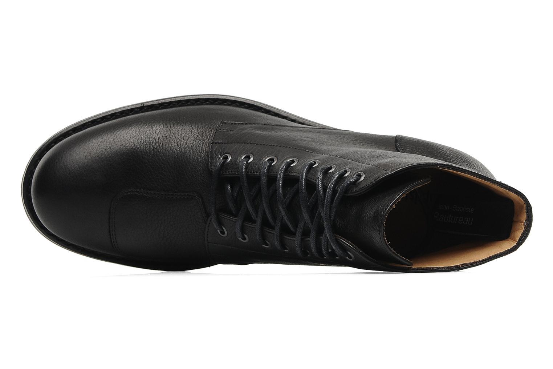 Bottines et boots Jean-Baptiste Rautureau Hyrod Lace Up Noir vue gauche