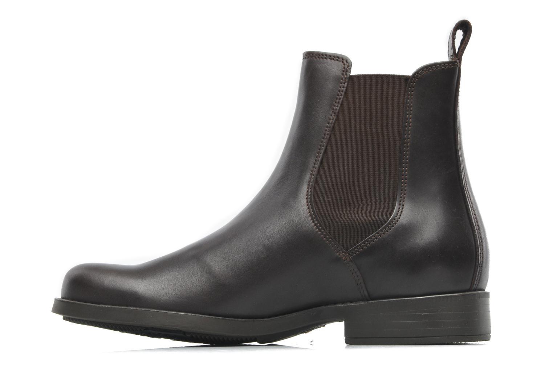 Chaussures de sport Aigle Orzac M Marron vue face
