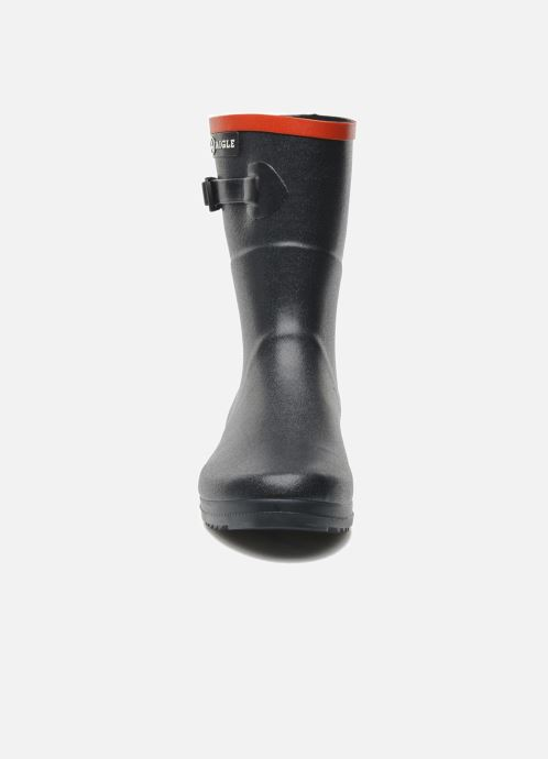 Ankle boots Aigle Chanteboot Pop Blue model view