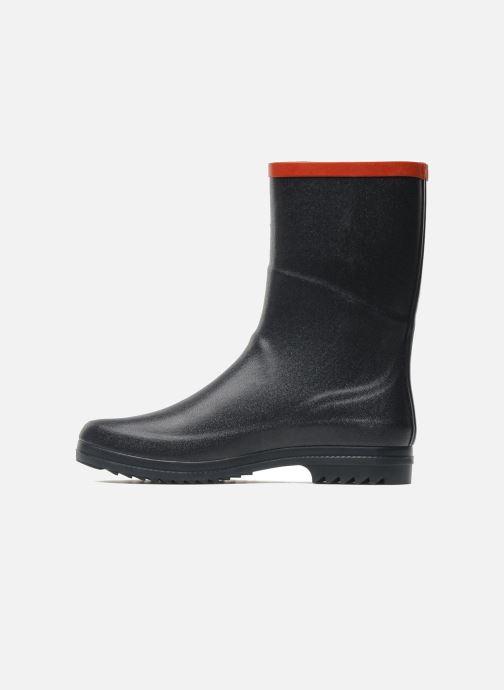 Bottines et boots Aigle Chanteboot Pop Bleu vue face
