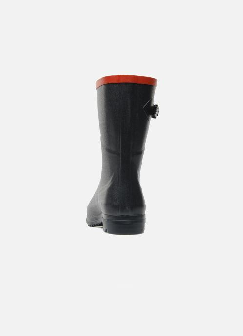 Bottines et boots Aigle Chanteboot Pop Bleu vue droite