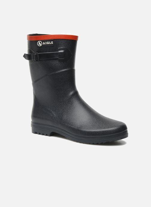 Bottines et boots Aigle Chanteboot Pop Bleu vue détail/paire