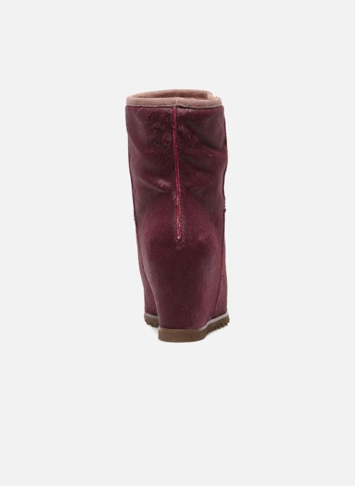 Ankle boots Fabio Rusconi Marta Burgundy view from the right