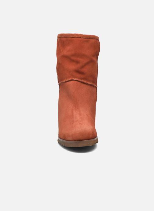 Bottines et boots Fabio Rusconi Marta Marron vue portées chaussures