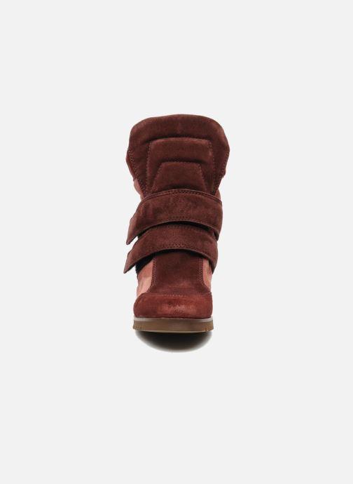Baskets Fabio Rusconi Tina Bordeaux vue portées chaussures