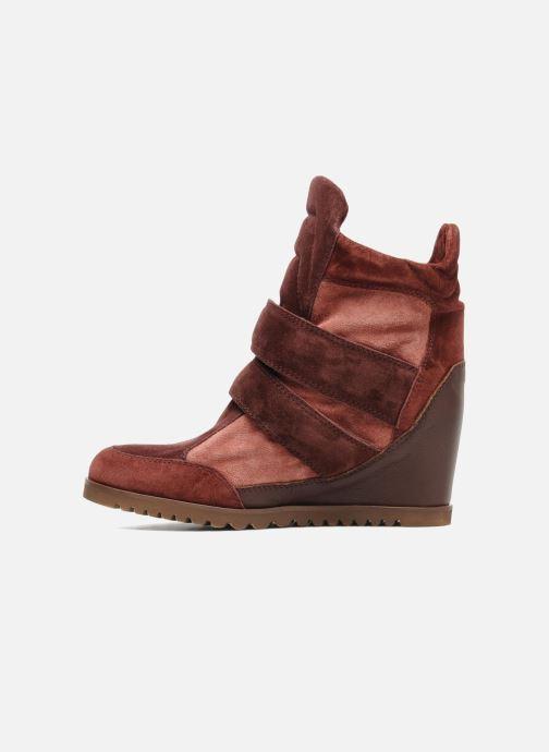 Sneakers Fabio Rusconi Tina Bordeaux voorkant