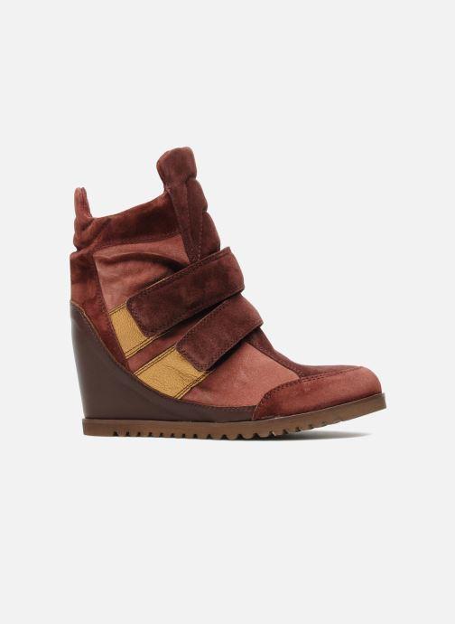 Sneakers Fabio Rusconi Tina Bordeaux achterkant