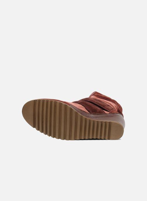 Sneakers Fabio Rusconi Tina Bordeaux boven