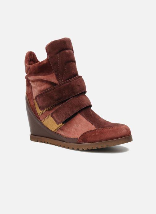 Sneakers Fabio Rusconi Tina Bordeaux detail