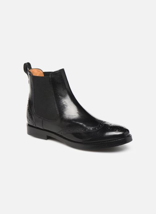 Boots en enkellaarsjes Melvin & Hamilton Amelie 5 Zwart detail