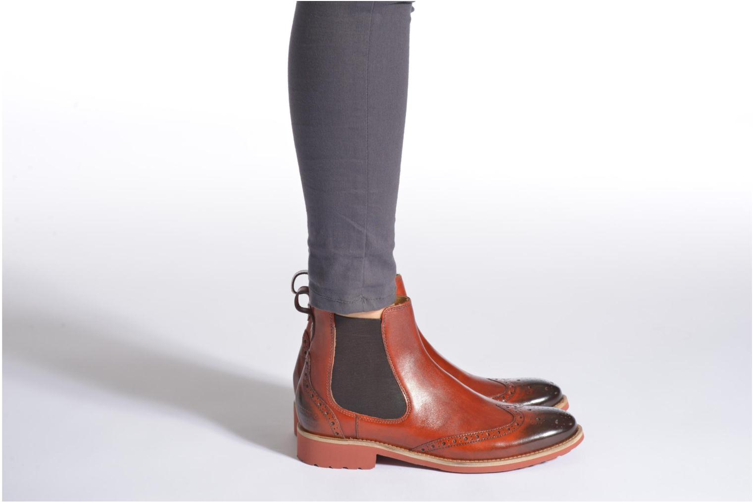 Ankle boots Melvin & Hamilton Amelie 5 Brown view from underneath / model view