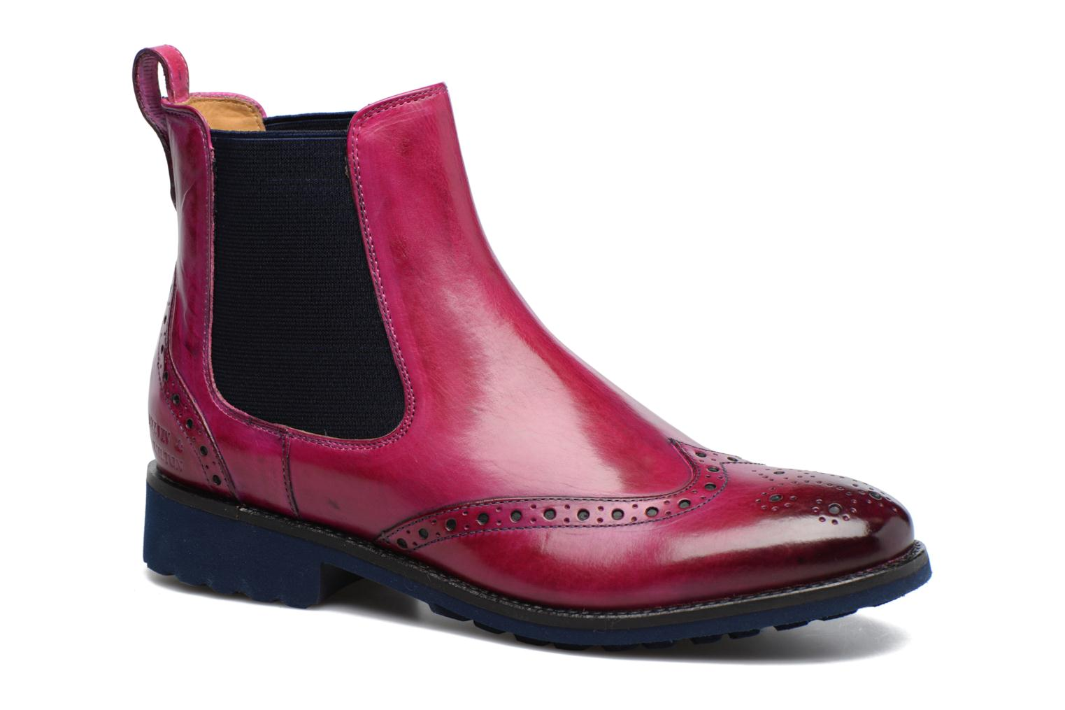 Ankle boots Melvin & Hamilton Amelie 5 Pink detailed view/ Pair view