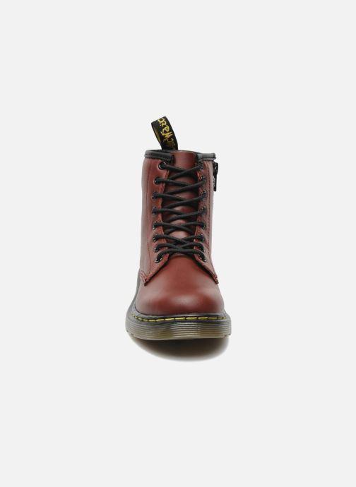 Bottines et boots Dr. Martens 1460 J Bordeaux vue portées chaussures
