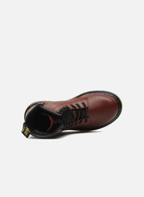Ankle boots DR. Martens 1460 J Burgundy view from the left