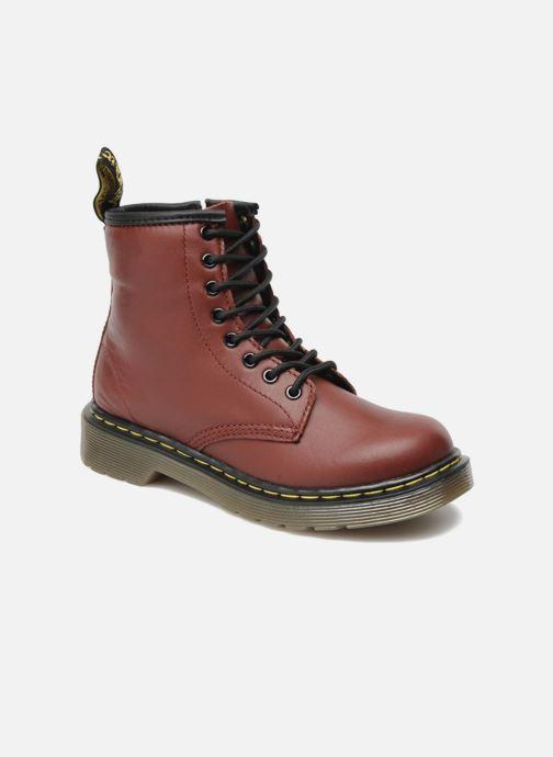 Ankelstøvler Dr. Martens 1460 J Bordeaux detaljeret billede af skoene