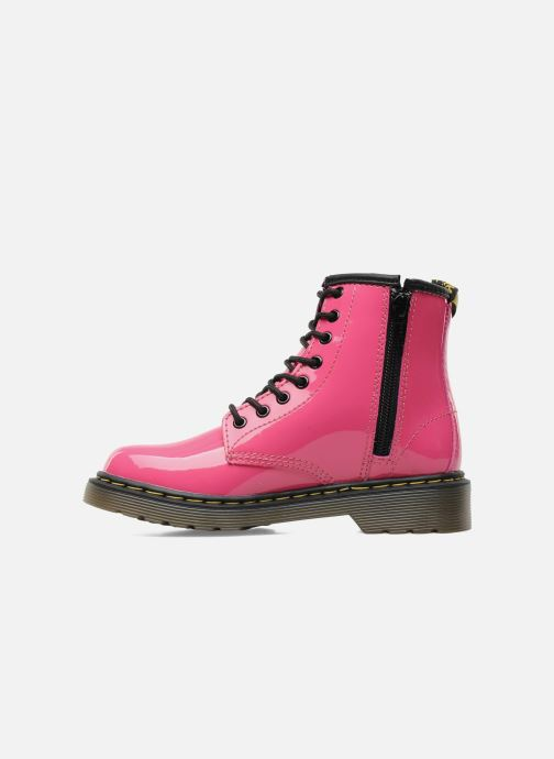 Ankelstøvler Dr. Martens 1460 J Pink se forfra