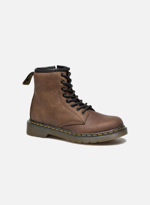 Stiefeletten & Boots Dr. Martens 1460 J braun detaillierte ansicht/modell