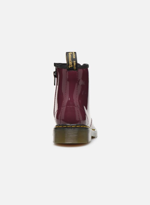 Ankle boots DR. Martens 1460 J Burgundy view from the right