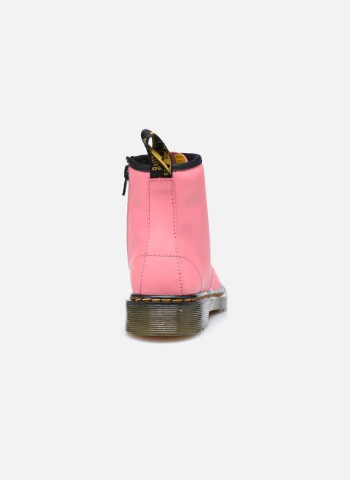 Bottines et boots Dr. Martens 1460 J Rose vue droite