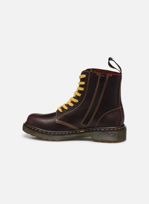 Boots en enkellaarsjes DR. Martens 1460 J Bordeaux voorkant