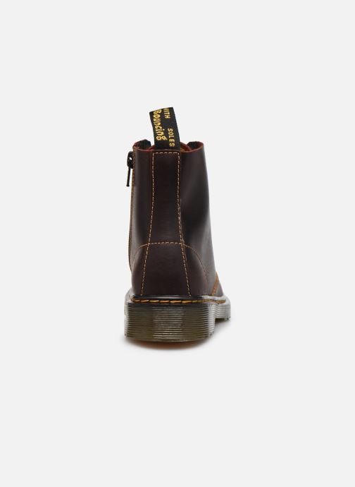 Boots en enkellaarsjes DR. Martens 1460 J Bordeaux rechts