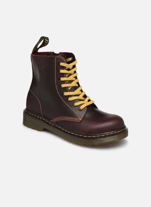 Boots en enkellaarsjes DR. Martens 1460 J Bordeaux detail