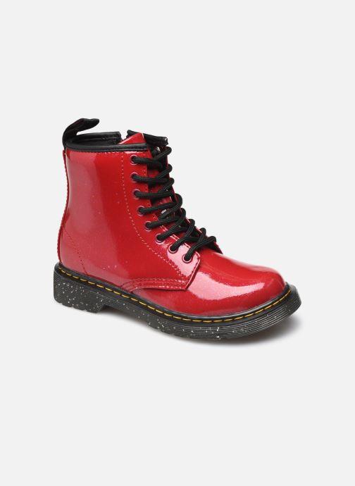 Stiefeletten & Boots Dr. Martens 1460 J rot detaillierte ansicht/modell