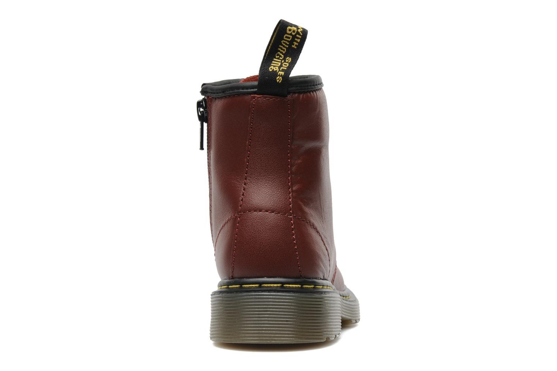 Stiefeletten & Boots Dr. Martens 1460 J weinrot ansicht von rechts
