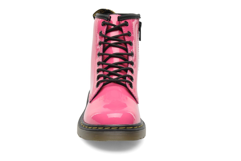 Stiefeletten & Boots Dr. Martens 1460 J rosa schuhe getragen