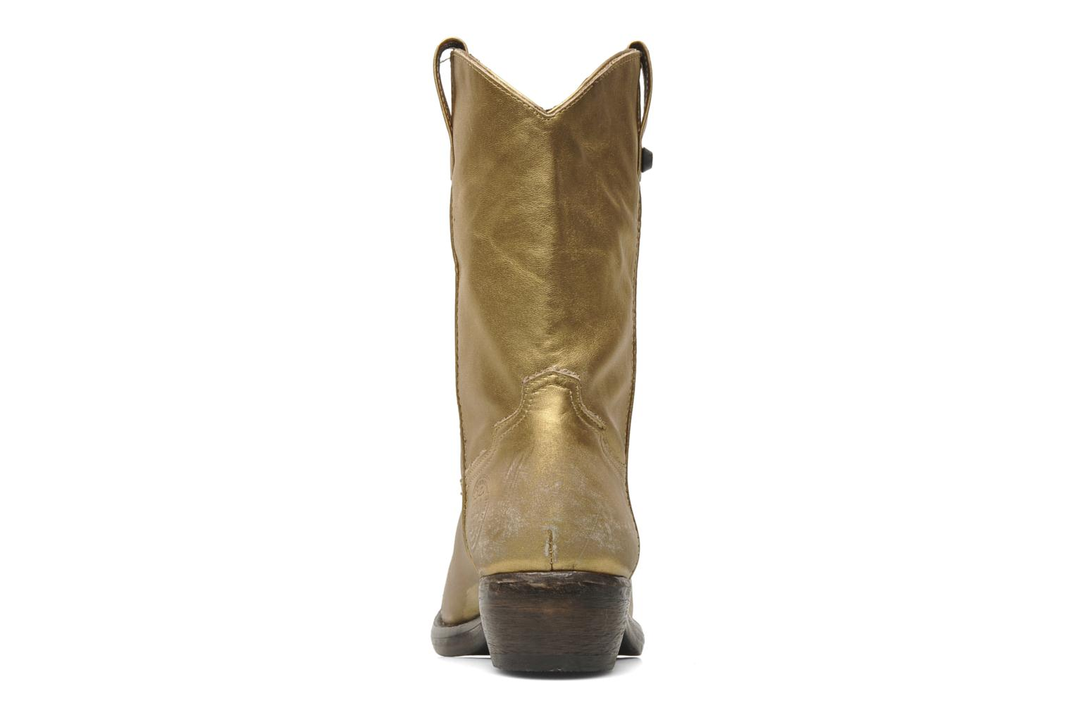 Ankle boots Catarina Martins Vendit LE2026L Bronze and Gold view from the right