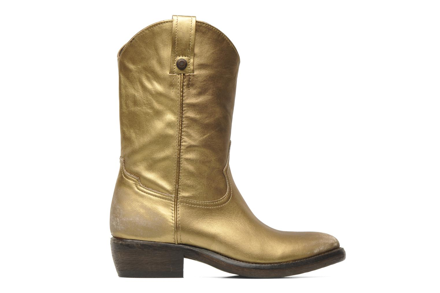 Ankle boots Catarina Martins Vendit LE2026L Bronze and Gold back view