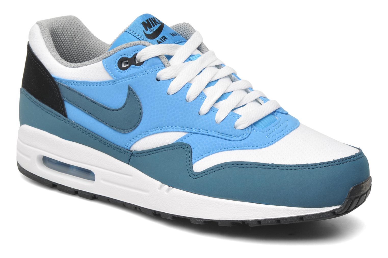 new style 5d339 9856c Baskets Nike Air Max 1 Essential Bleu vue détailpaire