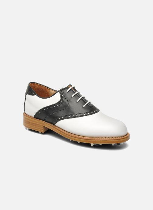 Sportssko Georgia Rose Golfy Sort detaljeret billede af skoene