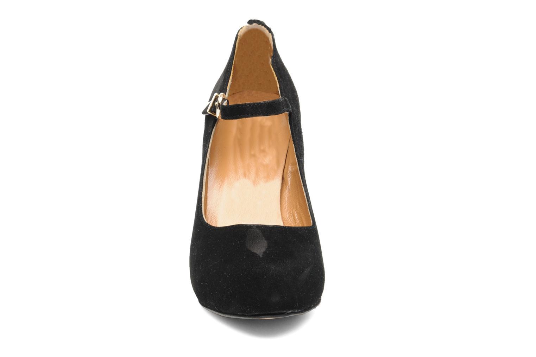 Escarpins Georgia Rose Benedith Noir vue portées chaussures