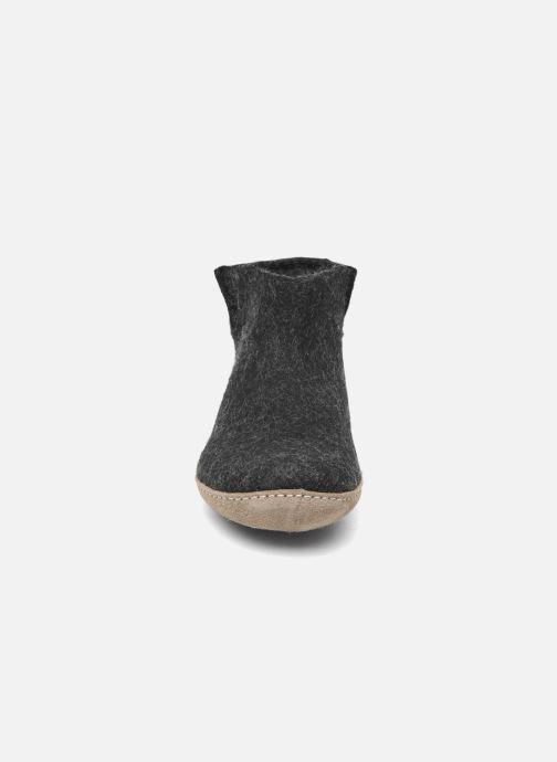 Chaussons Glerups Poras W Noir vue portées chaussures