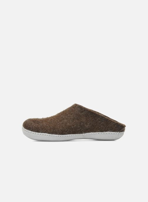 Chaussons Glerups Piras W Marron vue face