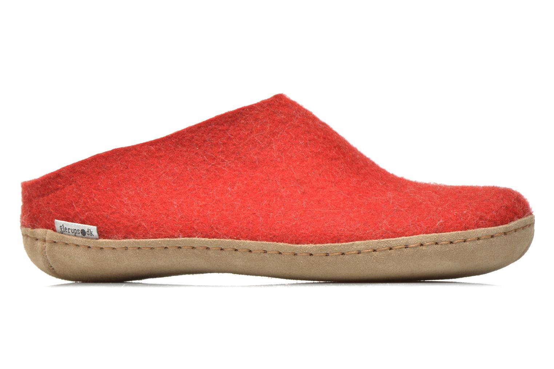 Slippers Glerups Piras W Red back view